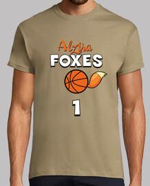 Camiseta sport hombre Alzira Foxes nº1