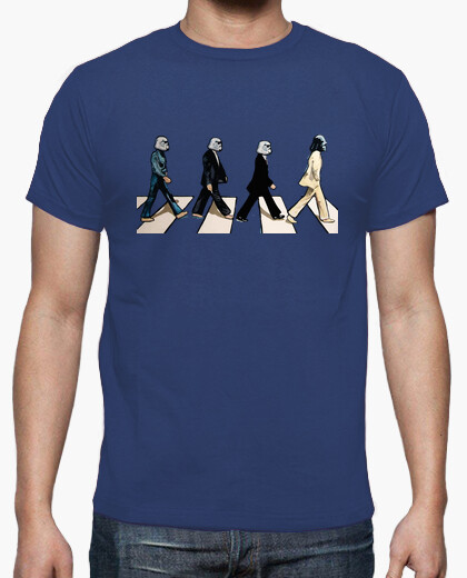 Camiseta Star wars popart Beatles