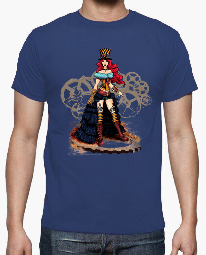 Camiseta Steampunk girl