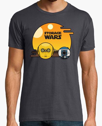 Camiseta Storage Wars - C3PO y R2D2