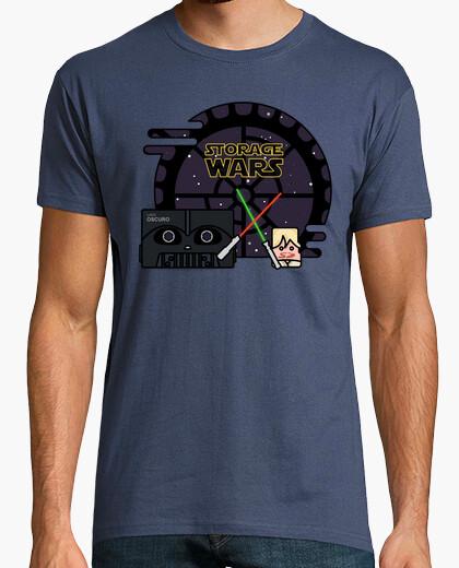 Camiseta Storage Wars - Darth Vader vs. Luke