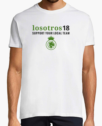 Camiseta Support Your Local Team Hombre