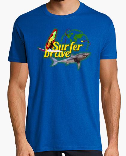 Camiseta Surfer brave (Hawaii ·...