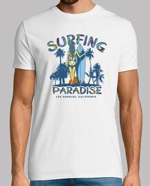 Camiseta Surfing California Retro Surf Surfers Los Angeles Vintage