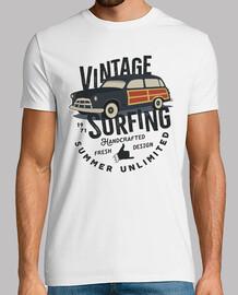 Camiseta Surfing Retro Vintage Surfero