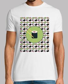 Camiseta Sushi Japón Comida Receta