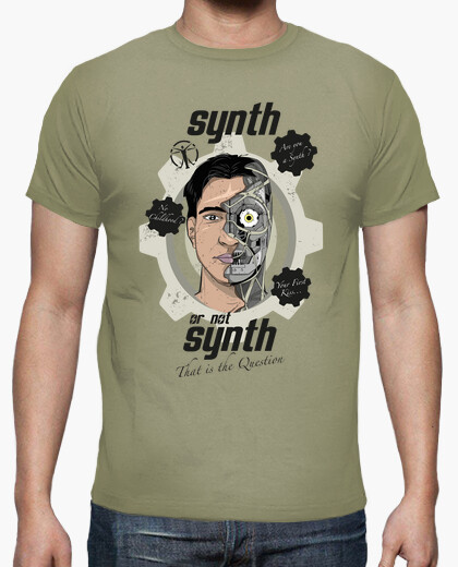 Camiseta Synth or not Synth