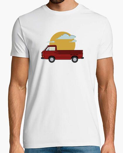 Camiseta t3 doka rojo sol Hombre,