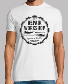Camiseta Taller Mecánico Retro Repair