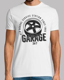 Camiseta Taller Mecánico Retro Reparación