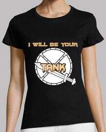 Camiseta Tank (blanco) chica