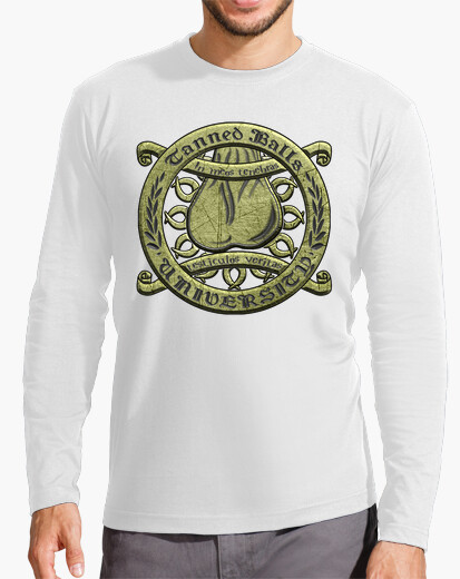Camiseta TBU labrado texto negro HML