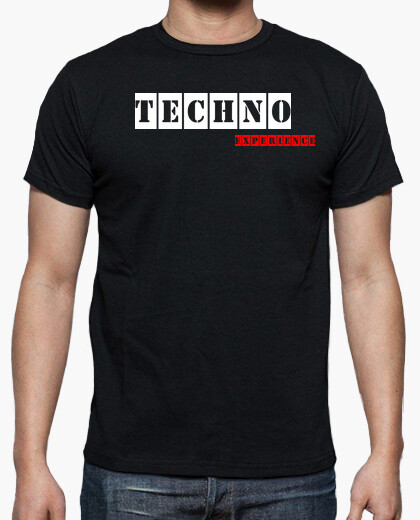 Camiseta Techno Experience Black By Blum Recordings Label