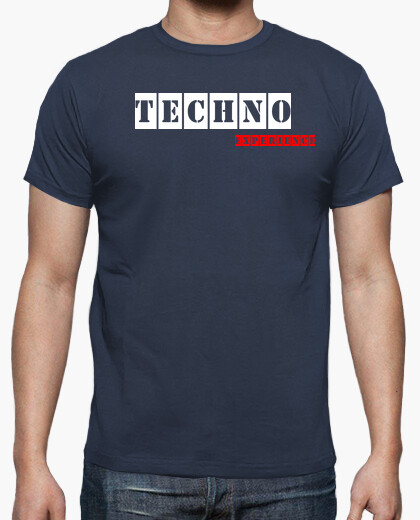 Camiseta Techno Experience Blue By Blum Recordings Label