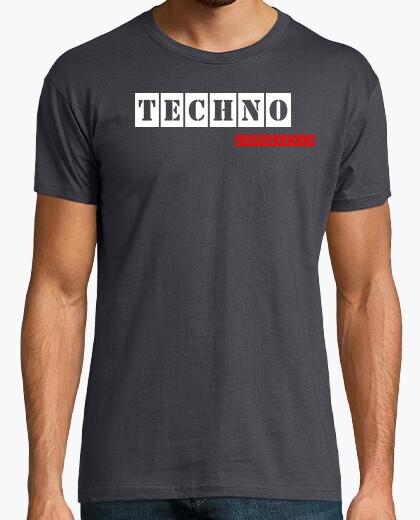 Camiseta Techno Experience Grey By Blum Recordings Label