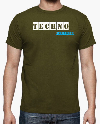 Camiseta Techno Paradise Army By Blum...