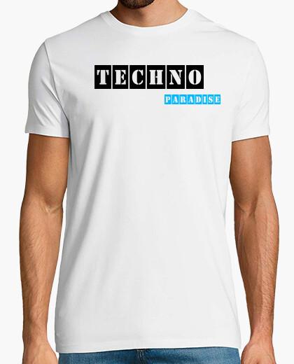 Camiseta Techno Paradise White By Blum...