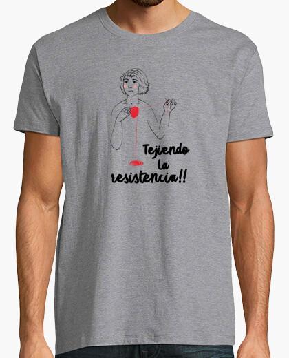 Camiseta Tejiendo la resistencia, Mónica Jiménez
