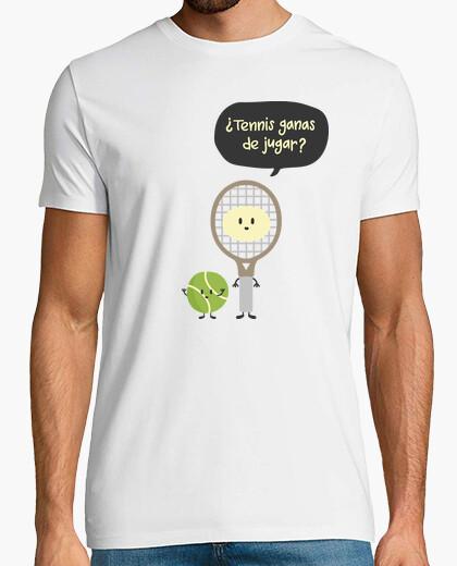 Camiseta TENNIS GANAS DE JUGAR
