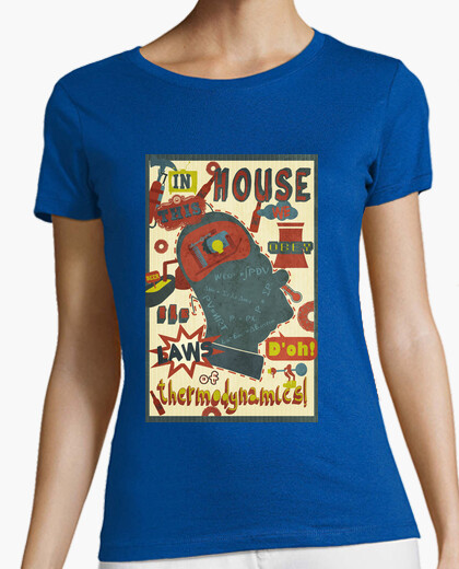 Camiseta Termodinámica (chica)