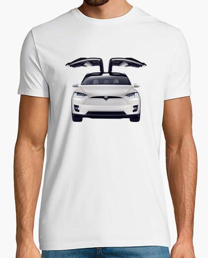 Camiseta Tesla Model X hombre