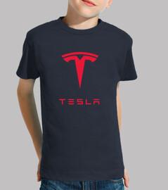 Camiseta Tesla niño