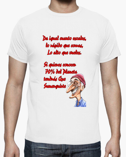 Camiseta texto Jacques Cousteau