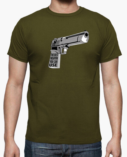 Camiseta The Best Weapon You Can Use