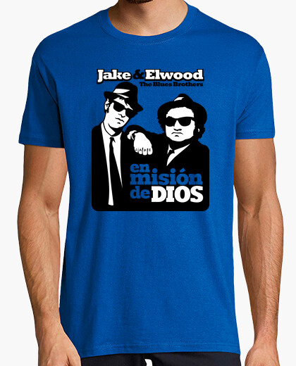 Camiseta The Blues Brothers: En Misión de Dios