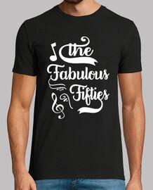 Camiseta The Fabulous Fifties Rockabilly USA Music