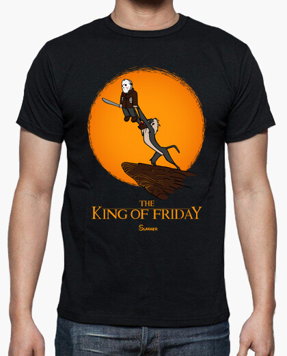 Camiseta The king of friday