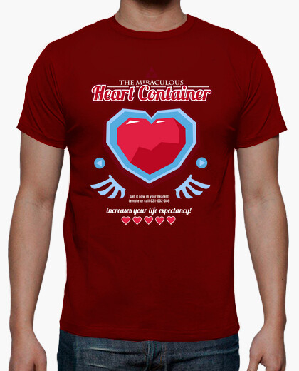 Camiseta The Miraculous Heart Container