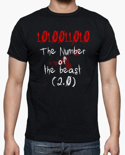 Camiseta The Number of The Beast (Binary)