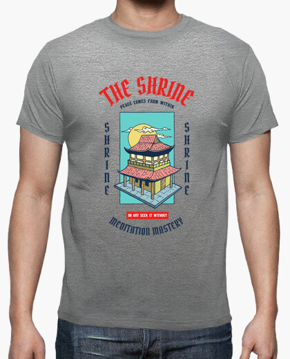 Camiseta The Shrine - artmisetas.com - Japon