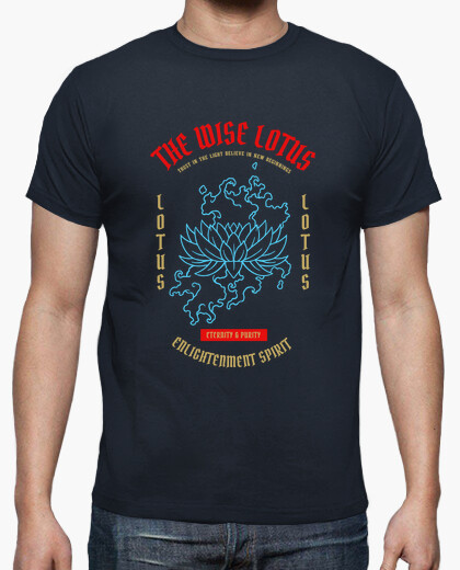 Camiseta The Wise Lotus - artmisetas.com - Japon