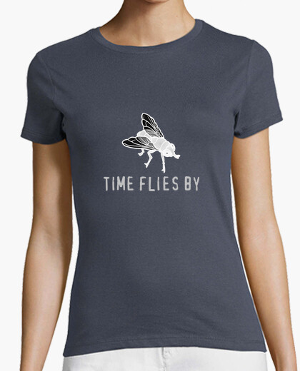 Camiseta Time Flies by...