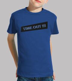 Camiseta TIMEOUT, Niño