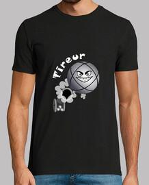 camiseta tirador bola de petanque fs existe en puntero