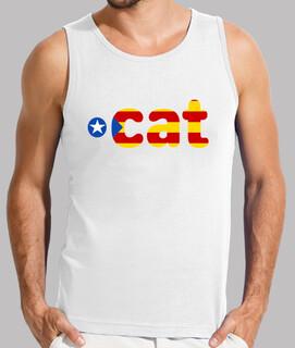 Camiseta tirantes hombre Cat 1.0