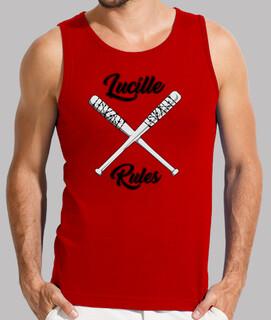 Camiseta tirantes hombre Lucille Rules