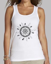 Camiseta tirantes mandala