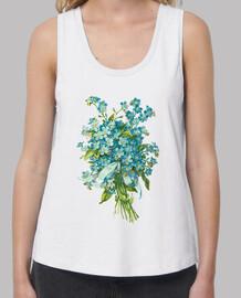 Camiseta tirantes Ramo Forget me not