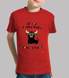 Camiseta toro niños