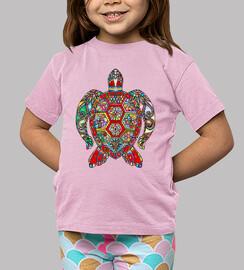 Camiseta Tortuga de color