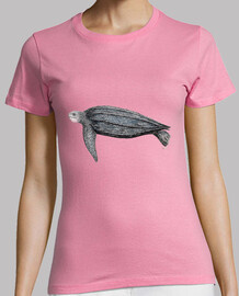 Camiseta Tortuga laud (Dermochelys coriacea)