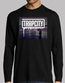 Camiseta Trap City Chico (Manga Larga)