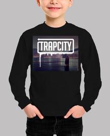 Camiseta Trap City Infantil/Niño