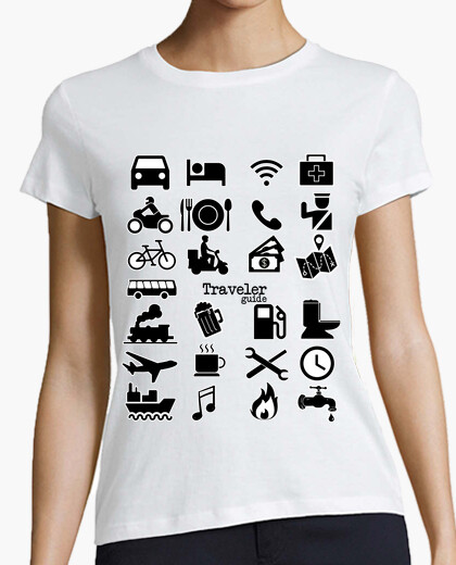 Camiseta Traveller guide