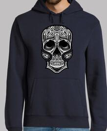 camiseta tribal del cráneo