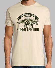 Camiseta Triceratops Prehistoria Fósiles